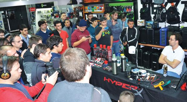 Overclocking al limite con Hyperx en Banifox junto a Nacho Arroyo 2