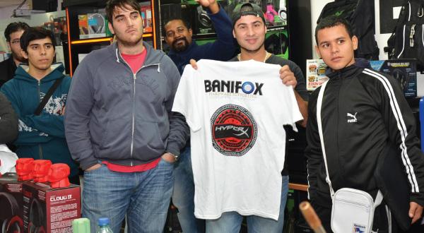 Overclocking al limite con Hyperx en Banifox junto a Nacho Arroyo 8