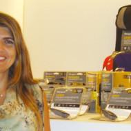 Foto Paola Brun como nueva Gerente de Producto para Targus en Unicom