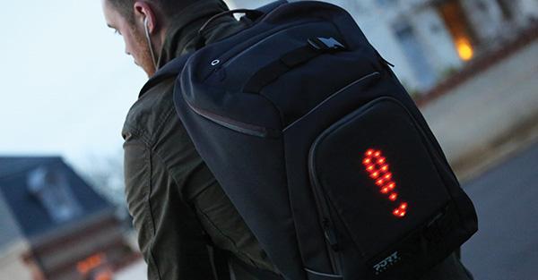 Port Designs presenta la mochila Go Led - 1