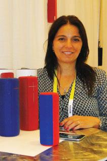 Rosana Vignone Product Manager de Logitech en el distribuidor uruguayo