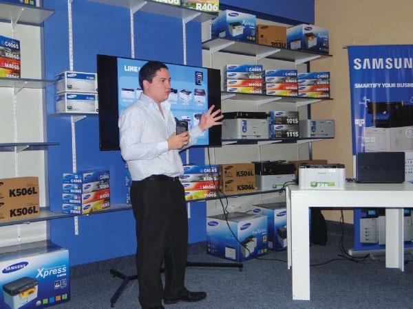 Samsung y Romis lideres en el mercado de impresion