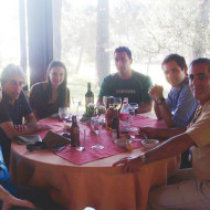 Sergio Canals, Fernando Bartesaghi, Natalia Lodico, Christian Ledo, Augusto Vizzia y Salvador Crespo.