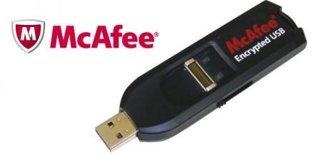 Foto McAfee Encryption USB
