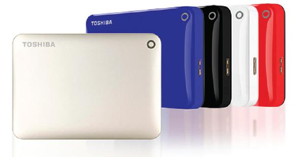 TOSHIBA lanza nuevos dispositivos de storage externos 3