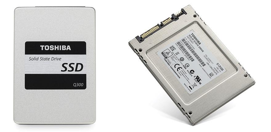 TOSHIBA presenta nuevas SSDs poderosas y eficaces SSD Q300