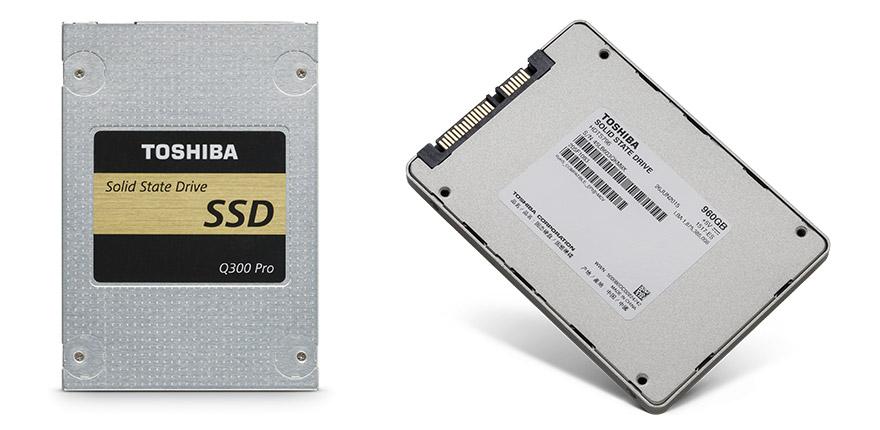 TOSHIBA presenta nuevas SSDs poderosas y eficaces SSD Q300PRO