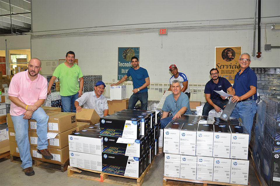 TWC Equipo warehouse logistica y despacho