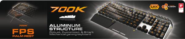 Tecaldo Gaming Aluminio COUGAR inteligente rico en recursos - 1