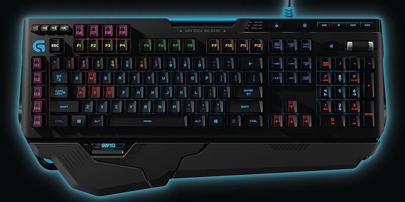 Teclado mecanico RGB para gaming Logitech G910 Orion Spark 2