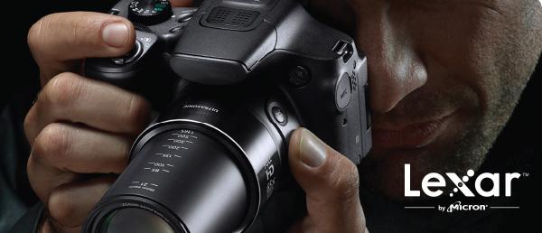 Tome fotografias mass rapidamente y capture videos HD con memorias Lexar 2