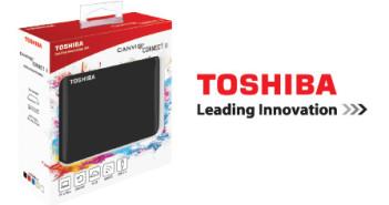 Toshiba ofrece su nuevo disco rigido externo Canvio Connect II para este dia del ninio