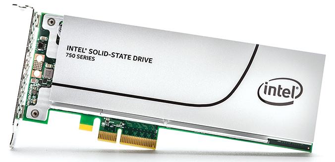 Unidad de Estado Solido Intel Serie 750 SSD