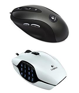 Logitech gamer mouse