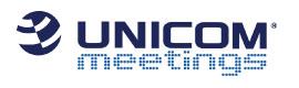 Unicom Meetings logo
