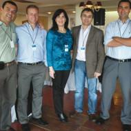 Alvaro Silva (Intcomex), Alfredo Brena (Intcomex), Yamila Silvera, Daniel Mattos (Motociclo),Christian Ledo (Intcomex), Florencia Seoane (Intcomex)