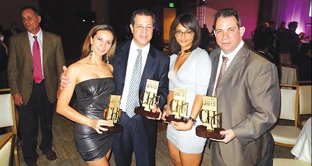 Channel Awards 2012 Wendy Guerrero Joe Durand Lucy Orozco Miguel Hernandez MSI