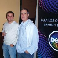 Incotel y Dell continúan agasajando a sus clientes Motociclo Luis Crocce Jorge Asaff