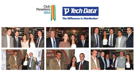 Logo Club Resellers IBM y Techdata