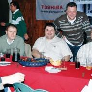 Justino Rodriguez (Central de Ventas), Freddy Garcia (Electroventas), Luis Barreiro, Nelson Jacques (Real Informatica), Mauricio Curbelo (Intcomex)