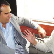 Xavier Alvarez, Director Comercial Intcomex y Yani Bettanin, Director de Net Wan